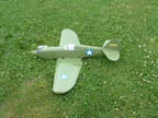 RCCA scale 2548 RC-combat p40 wingspan 48""